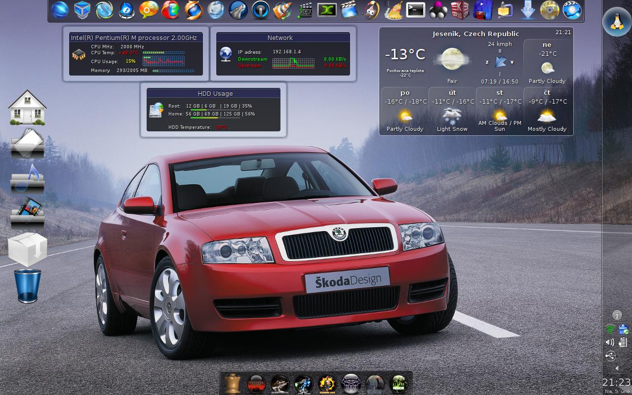 Hanz: Mageia 1, KDE 4.6.5