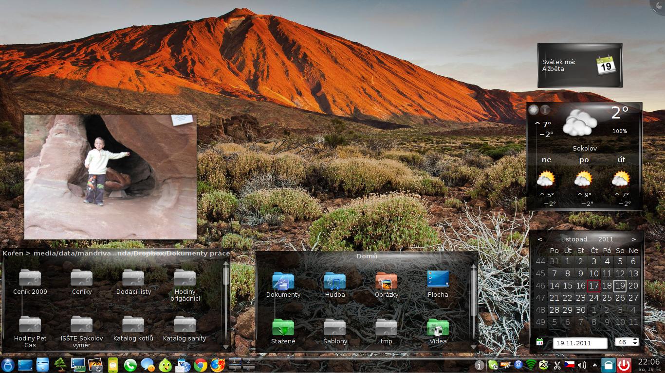 Novas33: Mageia 1, KDE