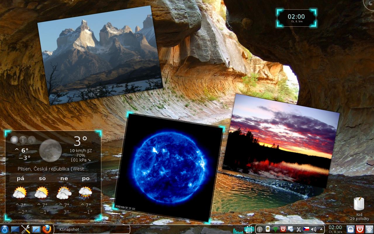 Malfborn: Mageia 1, KDE4 - nature