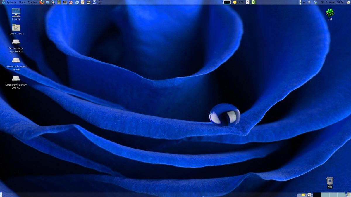 Robo: Mageia 1, Gnome - desktop